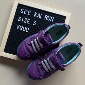 See Kai Run Purple Sneakers. Excellent condition